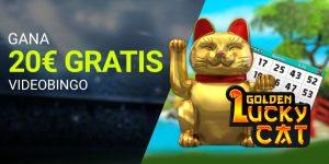 20€ gratis con Golden Lucky Cat
