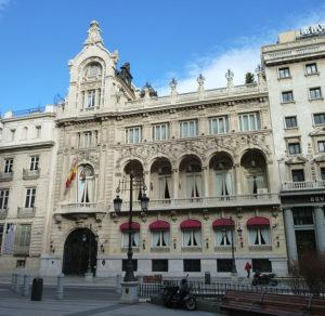 El Casino de Madrid, uno de los más antiguos del país (Foto: Luis García)