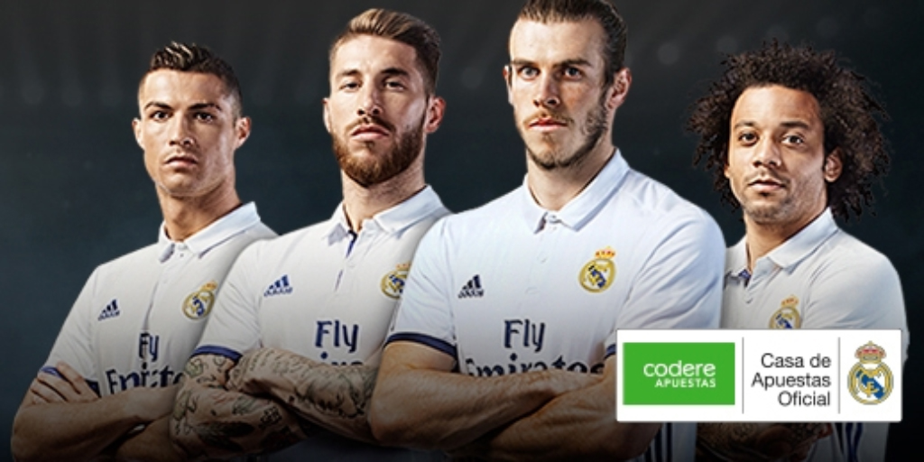 Codere y Real Madrid patrocinio