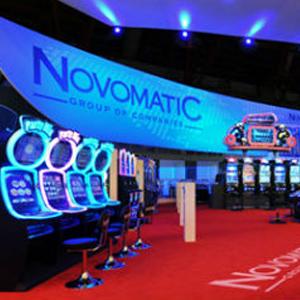 Exposición Novomatic