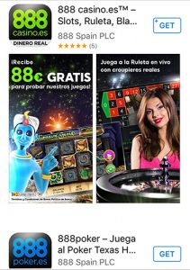 App Store para iPhone dinero real casino