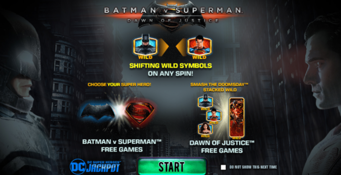 Batman v Superman slot online