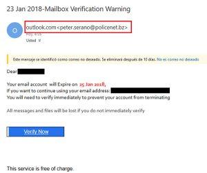 SELAE avisa fraude correo electrónico