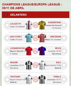 Fantasy Sportium Messi vs Lewandowski