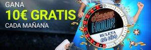 Happy hour ruleta en vivo Luckia casino