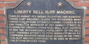 Liberty Bell slot machine memorial