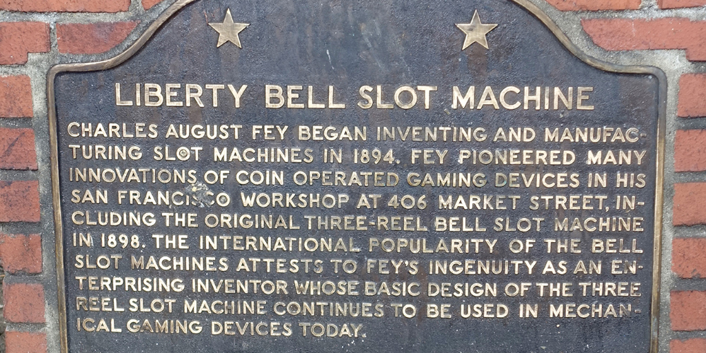 Liberty Bell slot machine memorial