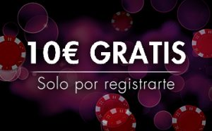 Promo 10€ gratis casino Sportium