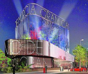 Plan fachada Gran Casino Murcia
