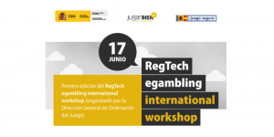 RegTech egambling International Workshop 2019