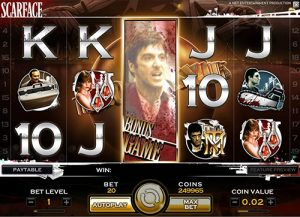 Scarface tragaperras casino online