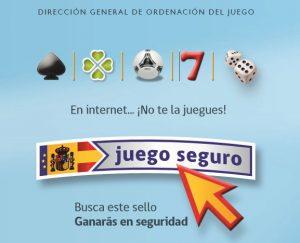 Logo juego seguro DGOJ