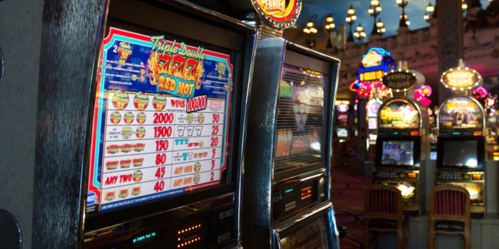 Máquinas tragaperras casinos