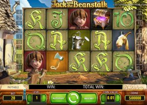 Tragaperras online Jack and the Beanstalk