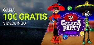 VideoBingo Calaca Party promocion Luckia